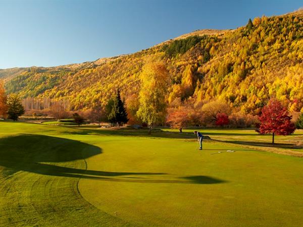 Golf Swiss-Belresort Coronet Peak, Queenstown, New Zealand