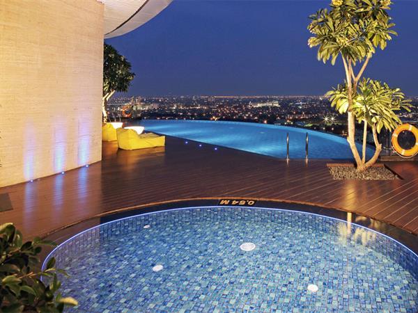 Pool deck Hotel Ciputra World Surabaya managed by Swiss-Belhotel International