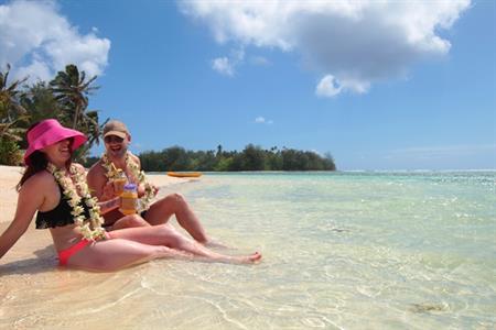 Honeymoon Special - Just Married Muri Magic Muri Beach Club Hotel