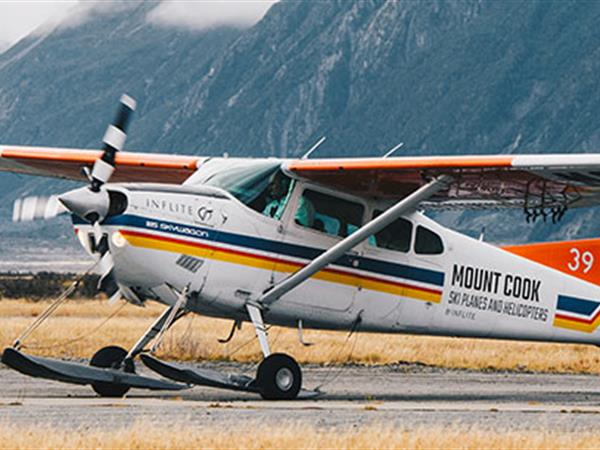 Mt Cook 360 From Mt Cook Airport - $199 INFLITE Experiences