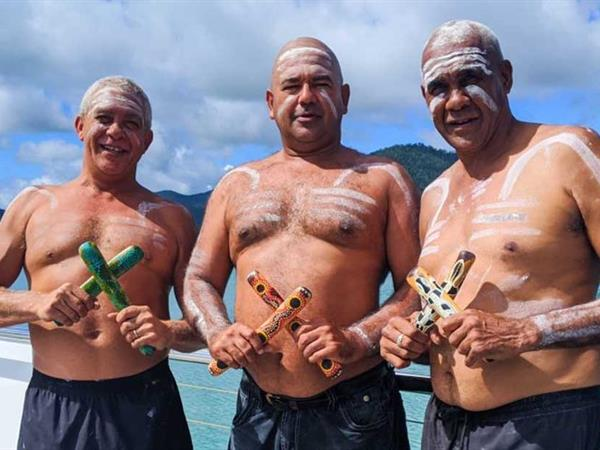 Traditional owners, operators Walking Together in Queensland's Year of Indigenous Tourism Whitsunday Paradise Explorer