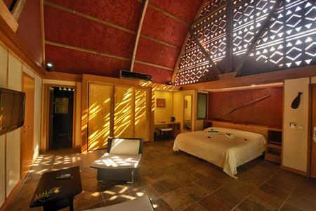 ガーデンバンガロー Hotel Maitai Lapita Village Huahine