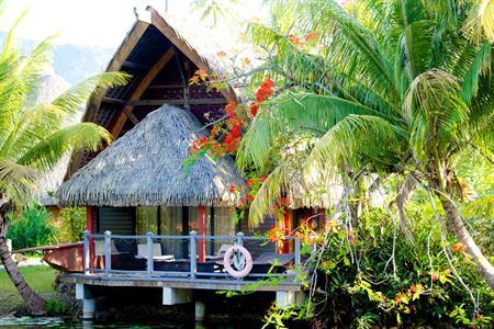 Premium Lake Bungalow Hotel Maitai Lapita Village Huahine