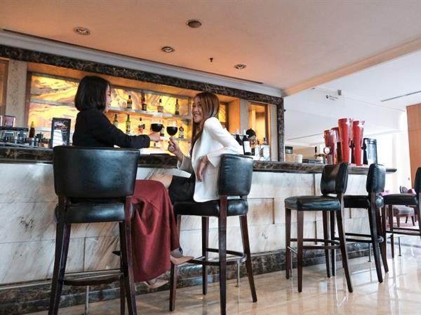 Marble Court Lobby Lounge Hotel Ciputra Jakarta