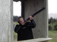 Clay Bird Shooting