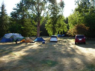 Non-powered Campsites Alpine Holiday Apartments & Campground