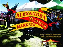 Alexandra Summer Markets - Every Saturday through summer