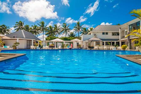 Boutique Hotel - biggest pool on the island!
