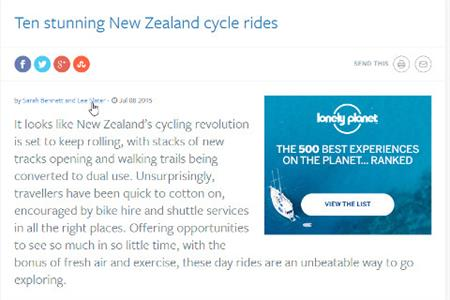 The Lonely Planet_Cycle Rides