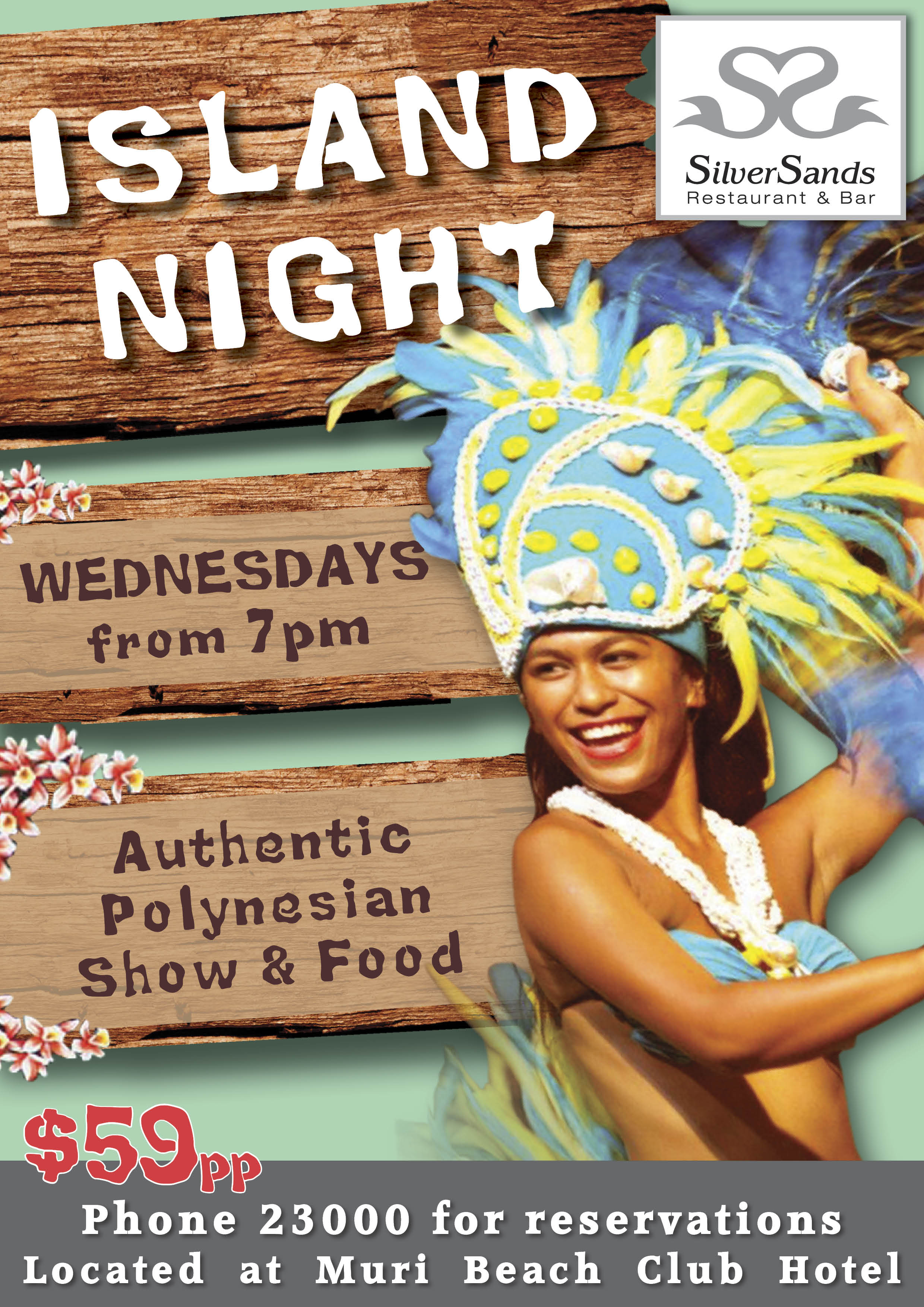 Polynesian Island Night