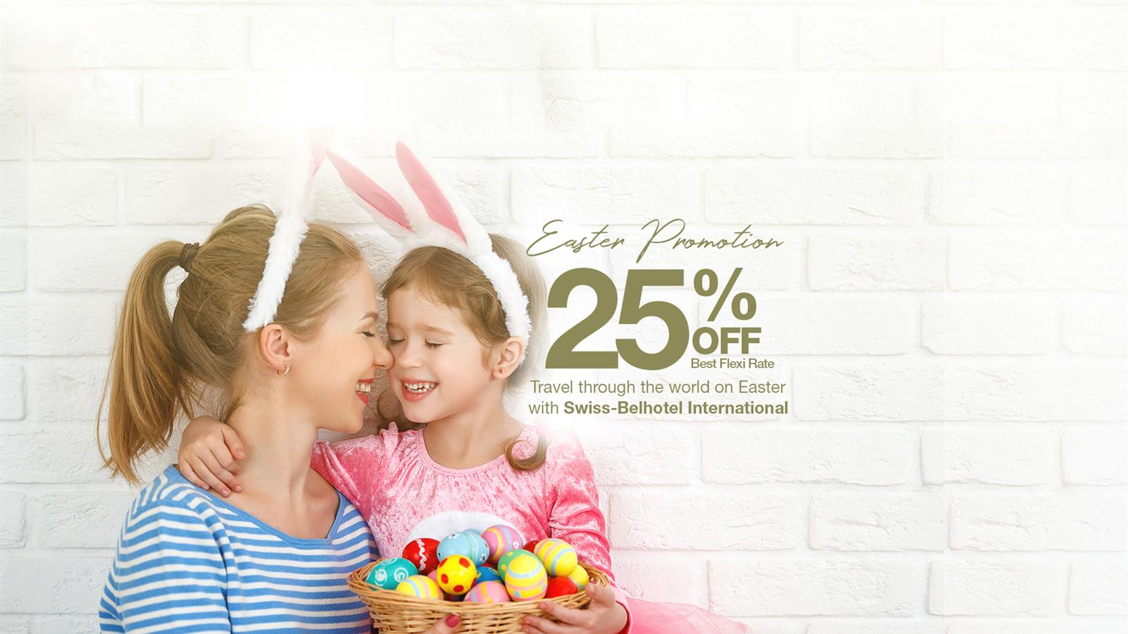 Easter Special - Save 25%!