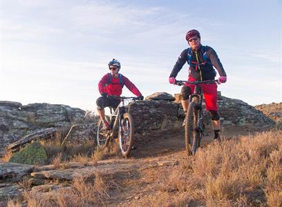 Phil Oliver - Mountain Biker