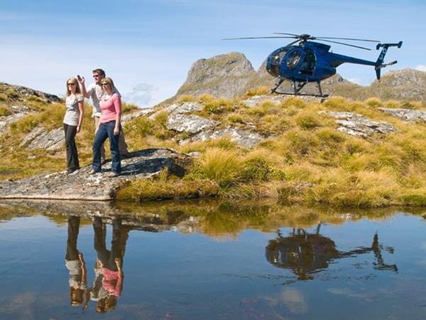 Scenic Flights Te Anau & Fiordland Distinction Luxmore Hotel Lake Te Anau