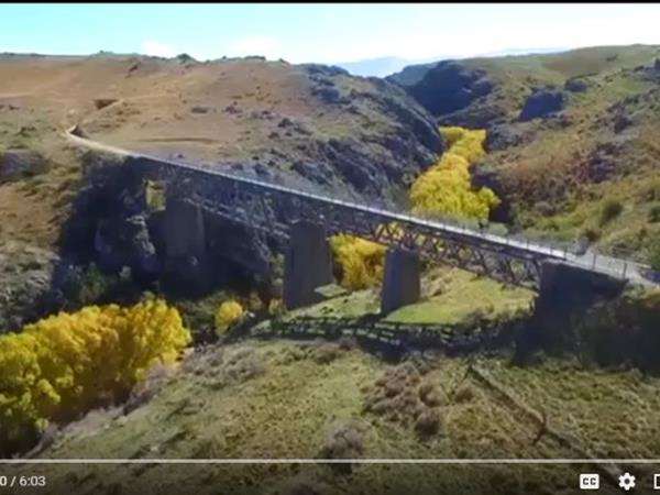 TV3 The Cafe - Otago Central Rail Trail