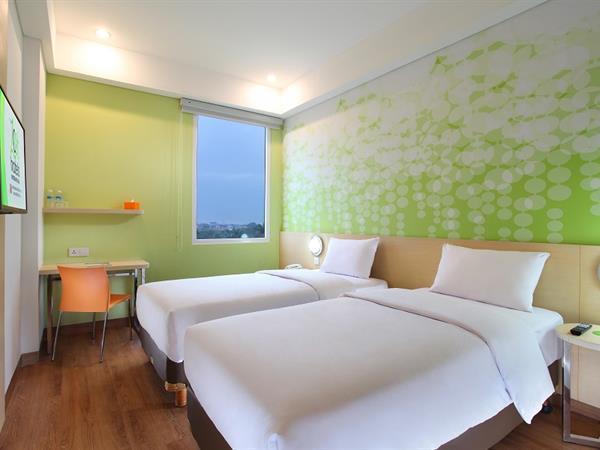 Zest Twin Room Zest Hotel Airport Jakarta