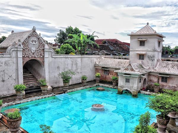 Taman Sari Water Castle Swiss-Belboutique Yogyakarta