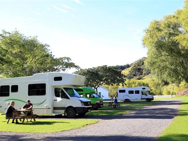 Powered Site Shelly Beach TOP 10 Holiday Park Coromandel