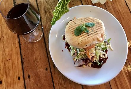 Gourmet Lamb Burger @ Faigan's Café