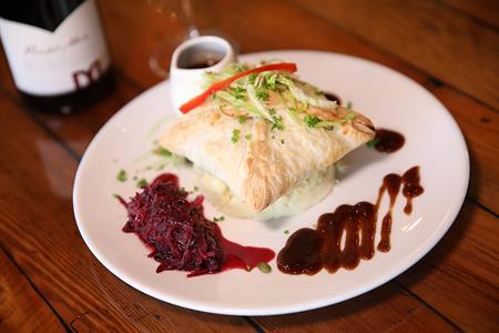 Speights Venison and Kumara Pie @ Faigans Cafe