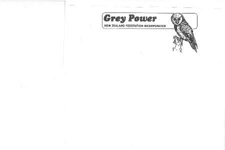 Grey Power Central Otago
