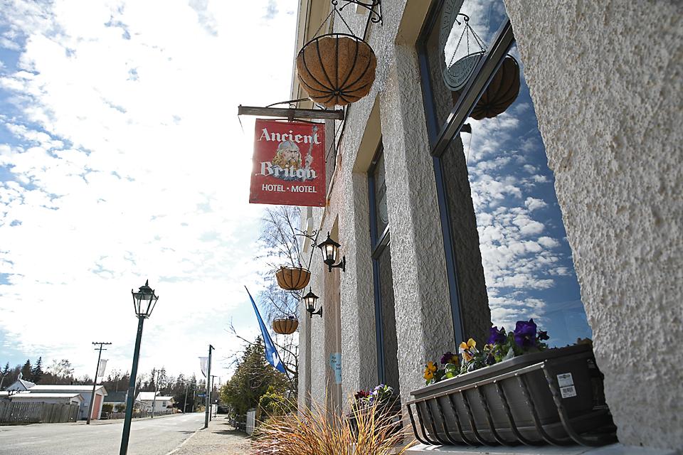 Rope Tied Denver Leg Venison @ Ancient Briton Hotel