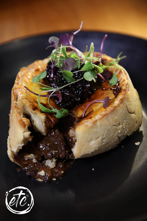 Wagu Beef and Porter Pie @ Chatto Creek Tavern