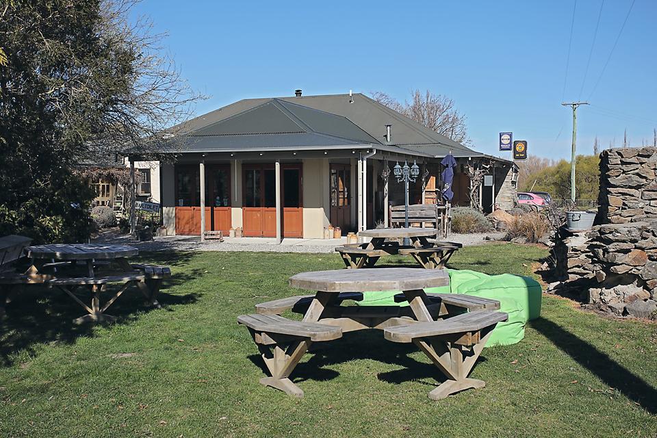 Strawberry Panna Cotta @ Chatto Creek Tavern