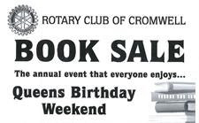 Cromwell Rotary Book Sale - Queens Birthday Weekend