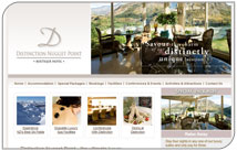 New website for luxury Queenstown hotel – Distinction Nugget Point