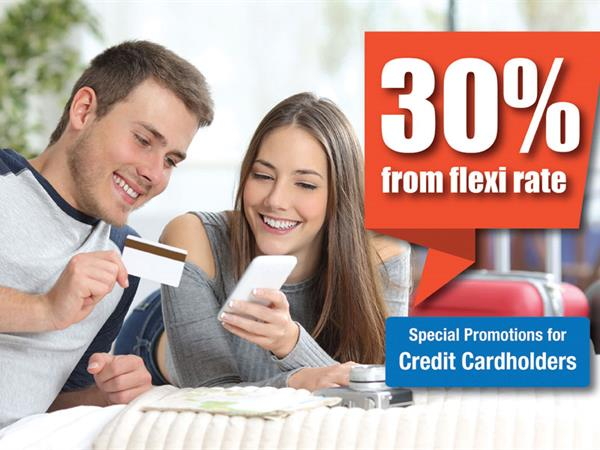Bank Partnership Promotions - 30% OFF!