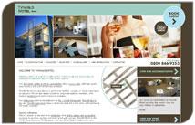 Modern new website for new Ashburton motel