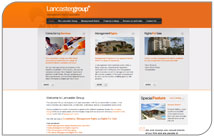 New website for Lancaster Group
