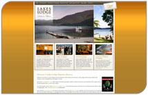 Lakes Lodge Okataina – stylish new website