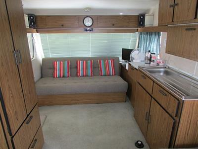 Classic Retro Caravan Cosy Corner Holiday Park