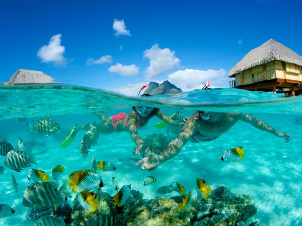 Underwater