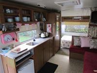 Vintage Retro Van Cosy Corner Holiday Park
