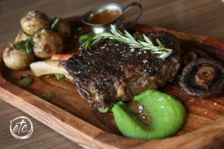 OP Steak (Ribeye on the Bone) @ Moorings Restaurant
