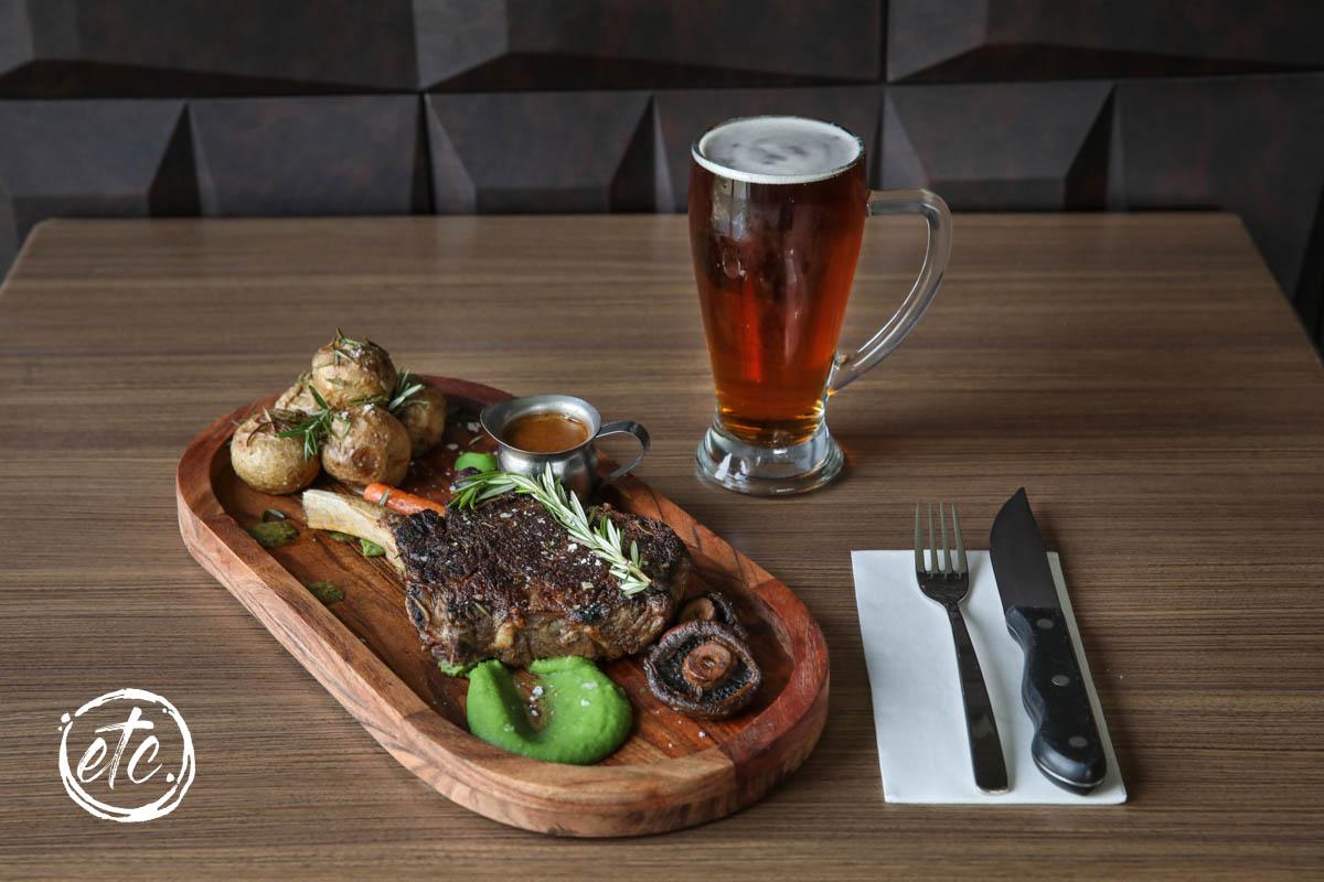 OP Steak (Ribeye on the Bone) @ Moorings Restaurant