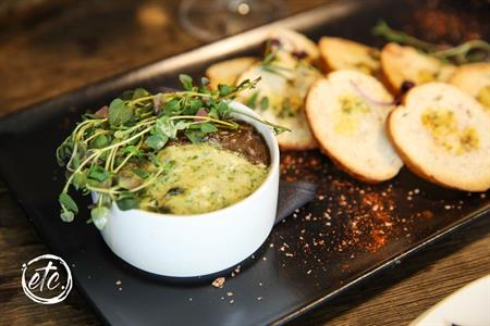 Vegetarian Pate @ The Moorings, Cromwell