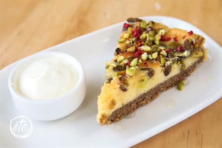 Honey Pistachio Cheesecake @ Maniototo Café