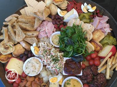 Blacks Best Ever Platter @ Blacks Hotel, Ophir