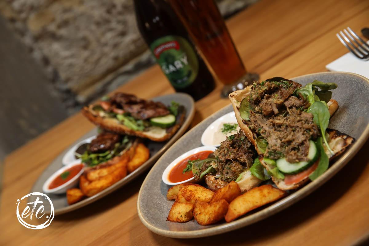 Kiwi Lamb Open Sandwich @ Pitches Store