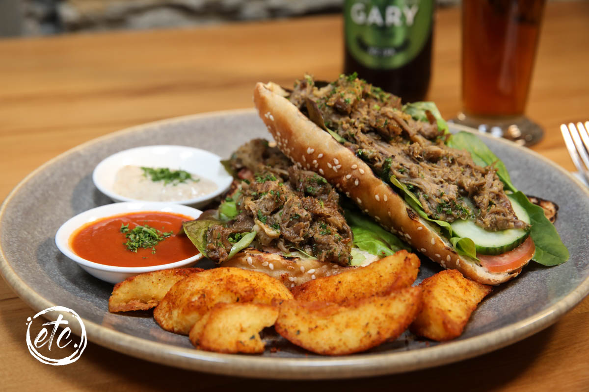 Sirloin Beef Open Sandwich @ Pitches Store