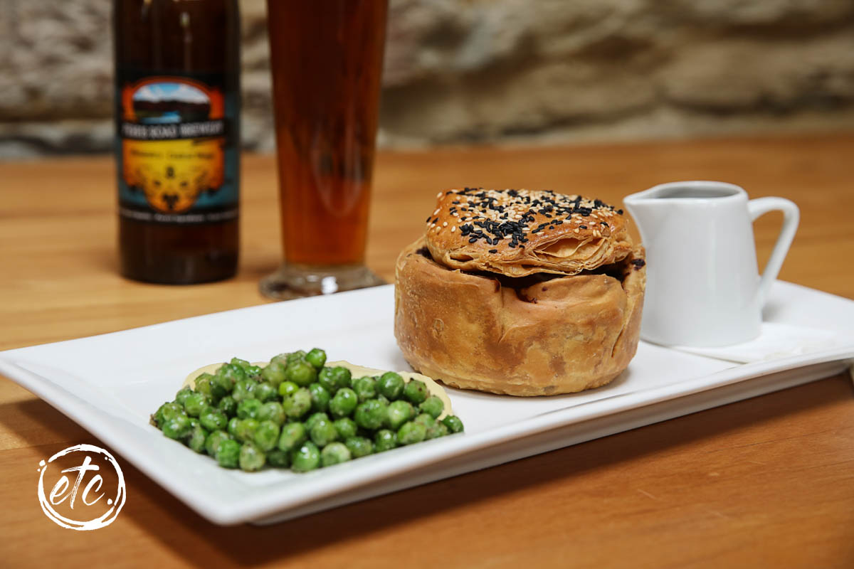 Beef and Cheddar Pie @ Pitches Store