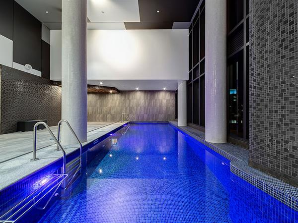 Indoor Heated Pool Swiss Belhotel Brisbane