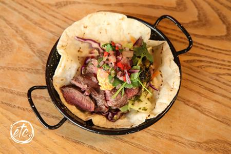Fillet of Beef Taco @ Amigos Cromwell
