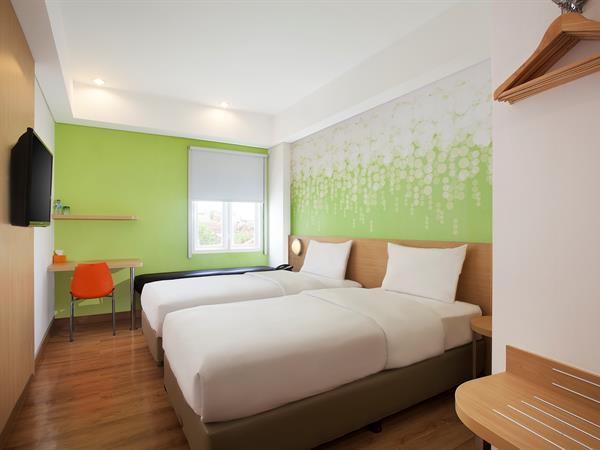 Kamar Zest Twin Zest Hotel Yogyakarta