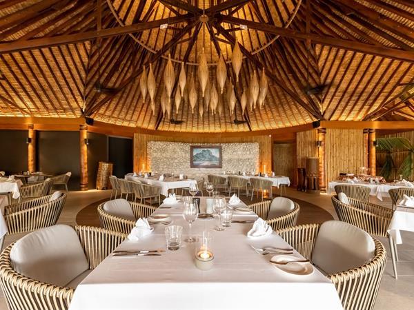 Tevairoa Restaurant Bora Bora Pearl Beach Resort & Spa